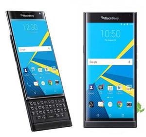 Remodelado desbloqueado Original Blackberry Priv Ram 3GB Rom 32GB hexa núcleo 5.4 polegadas 18MP 4G LTE celular