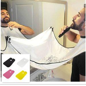 Barba de afeitar delantal barbería accesorios para el hogar de los hombres materiales de herramientas portátiles barba pelo recorte de corte de envases envases c