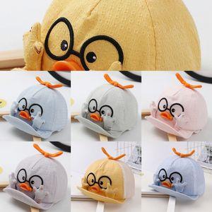 sol macho chapéu primavera feminino e chapéu de sol bonito pato fina verão outono pico Spire baby baby cap cap respirável