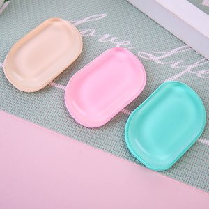 Silicone Makeup Foundation Silicone Blender Puff Transparent Silica Flawless Powder Beauty Essentials Blending Sponge 1 Piece