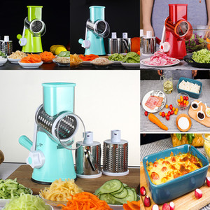 Mandoline Fruit Vegetable Slicer Cutter Manual Potato Carrot Cucumber Shredders Cheese Grater Stainless Steel Blades Kitchen Tools WX9-241