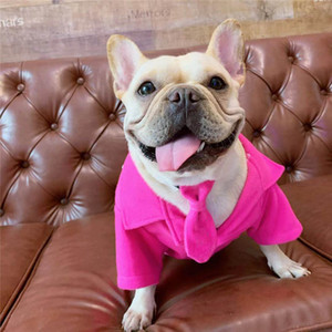 Woolen Suit Jacket For Dog Autumn Winter Thicken Pets Coats With Tie Schnauzer Bulldog Teddy Puppy Costume Dogs Apparel