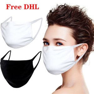 Anti-Dust Cotton Mouth Face Mask Unisex Man Woman Cycling Wearing Black Fashion High quality 100pcs DHL free shipping
