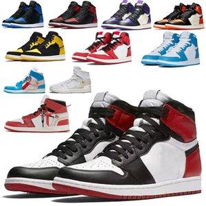 Топ Flyman 1 Баскетбол с коробкой 36-46 FlyMan обувь Laney Fear пакет Огонь Красный Инфракрасные Oreo Хищники Designe Multi-Color