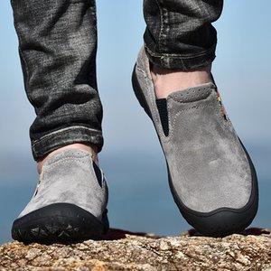 2020 estate nuovi sport trekking scarpe da uomo scarpe di cuoio esterno leggero fondo morbido e traspirante fuoristrada antiscivolo trave
