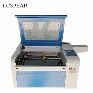 RECI 80W Ruida 4060 laser cutting machine with cw5000 chiller 550w fan and rotary pick up from China warehouse 6MW5#