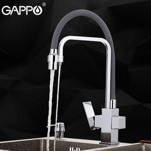 Filtre musluk suyu Torneira musluk Gappo mutfak mikser 360 döner esnek hortum ağzı mutfak vinç musluk sink musluk T200810