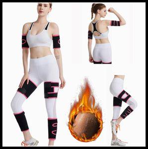 Neopren-Körper-Former Arme Bein Knie-Former Kontrolle fettFormWäsche Frauen-Shaper Gürtel Schlanker Arme reduzieren Wraps