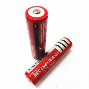 Hochwertige 18650 UltreFire Batterie, 18650 4000mAh Farbe rot Batterie leer Lithiumbatterie kann auf in heller Taschenlampe und so verwendet werden.