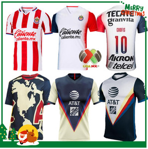 2020 футбол рубашка 2021 Чивас Гвадалахара клуб Америка футбол Джерси 20 21 Клуб де Cuervos