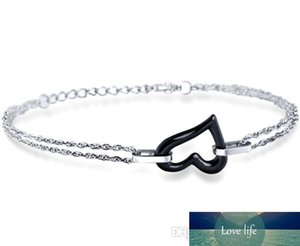 Fashion Stainless Steel Polished Ceramic bracelet For Women and Men Mix Style Wholesale Ceramic Jewelry Free shipping