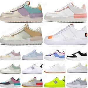 novo Homens Mulheres Plataforma Casual Sneakers Skate Shoes baixa Preto Utility Vermelho Branco Linho alta Corte de alta qualidade sapatos Mens instrutor Sports