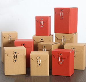20 adet Kraft Kağıt Hediye Paketleme Kutusu Özel Hediye Ambalaj Kutusu Cam Şişe Ambalaj Kutusu Bal Çiçek Çay Candy Tatlı Boş Karton Için