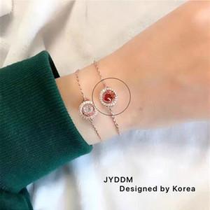 Dongdaemun JY Pulsatile Heart Bracelet Ones Animal Year New Year Lucky Transfer Red Rope Lovely Crystal Bracelet