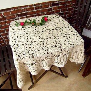 IBANO Handmade Crochet Coasters Cotton Tabela Pano Copa Mat Placemat Vintage Crocheted Toalha de Mesa Y200421