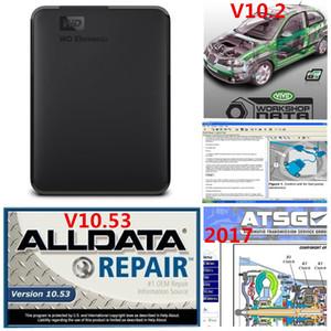 2020 최신 자동차 수리 ALLDATA 소프트웨어의 모든 10.53 750기가바이트 자동 복구 소프트웨어 DHL 무료 배송 생생한 워크샵 3in1hdd atsg
