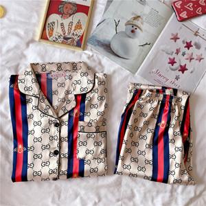 Mujer seda traje del kimono Establece la pareja de amantes del camisón del vestido de baño impresa flor ropa de dormir ropa de dormir de los hombres suave Albornoz satén camisón # 440