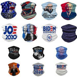 Trump Üçgen Magic Eşarp Başkanı ABD Biden Seçim Bandana Fonksiyonlu Bisiklet Güneş kremi Şapkalar Tasarım Turbans Yüz Maskeleri OWF1074