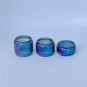 Convex Bubble Bulb Rainbow For SMOK Vape pen nord 19 22 Kangertech Subox Mini-C Vola 2ml 3.6ml 3ml Kit Tank Glass Tube