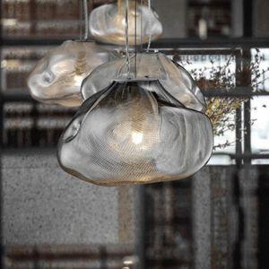 Nordic LED Glass Cloud Pendant Lights Lighting Home Decor Pendant Lamp Dining Living Room Bedroom Restaurant Loft Hanging Lamp