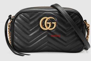 Marmont pequeno Matelass Shoulder Bag 447632 Mulheres Mostra Moda Shoulder Bags Totes Bolsas Top Alças Corpo Cruz Messenger Bags
