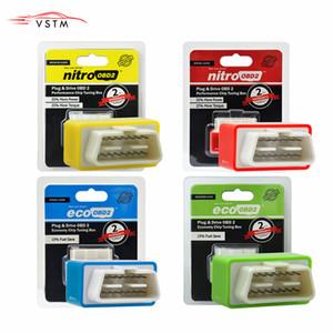 OBD2 Araç Nitro Performans Chip Tuning Box NitroOBD2 OBD arabirimi Tak ve Sürücü Fazla Güç Daha Tork İşleri İçin Dizel Otomobil