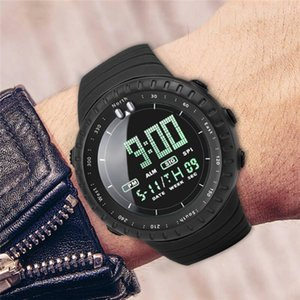 2020 New Brand Mens Sports Watches Outdoor Digital LED Watch Men Fashion Casual Electronics Wristwatches Relojes 661S4