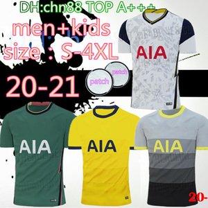 Tamanho: S-4XL 20 21 KANE SON Bergwijn de Futebol 2020 2021 LUCAS SPURS DELE TOTTENHAM Futebol Jogo da camisa NDOMBELE Homens uniformes crianças kit
