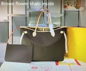 Cuero de alta calidad M40995 NAVERFULL bolsos clásicos de moda para el bolso monedero de las mujeres totalizadores con la bolsa de compras de la mujer Monedero del hombro del color 8