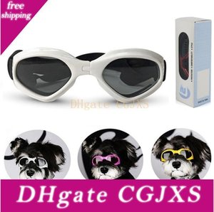 Accessori per la casa pieghevole dell'animale domestico Occhiali di sicurezza del cane Occhiali da sole antivento -proof degli occhiali da sole di protezione esterna Occhiali Dog Decorazione