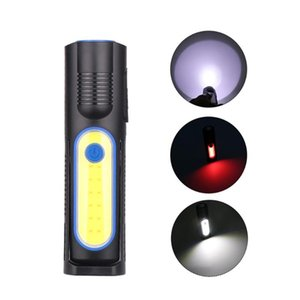LED COB USB Charging Input and Output Adjustable Maintenance Intense Lamp USB Emergency Work Lamp Maintenance
