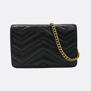 Recenti in pelle donne dell'unità di elaborazione piccola catena d'oro a tracolla Crossbody bag Tote borse borsa borse signora Messenger Bags Dimensioni 21x13x5.5cm