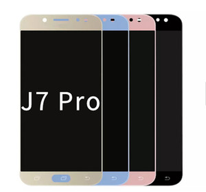 Full Original AMOLED Replacement 3D Digitizer Touch Display Mobile Phone LCD Screen For Galaxy J7 Pro J730 J730F