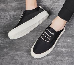 2020 Flats Classics Ladies Genuine Princetown Men Women Fur Slippers New Mules Platform Mules Leather Fashion Metal Casual shoes US5-US11