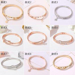 Hot selling bracelet temperament wild love geometric bracelet fashion watch accessories for girlfriends birthday gifts