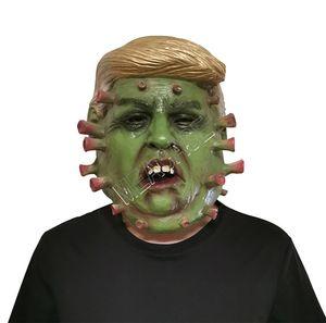 Başkan Donald Trump Lateks Maskeler Tasarımcılar Tam Yüz Maskeleri Kostüm Partisi Cadılar Bayramı Asma Kafatası Trump Karakter Maske D81706 Maske