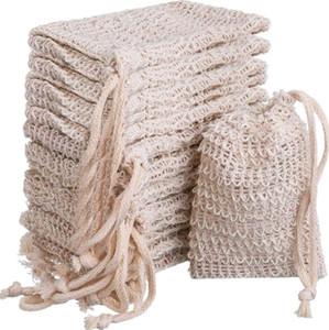 비누 가방 보호기 만들기 거품 자루 파우치 비누 저장 졸라 매는 끈 가방 홀더 피부 표면 청소 졸라 매는 끈 홀더 목욕 GWD1019 용품