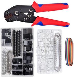 strumento mano Xh2.54 DuPont Terminal connettore elettrico di attrezzo della famiglia Set pinze di piegatura set Mini filo spogliarellista crimper