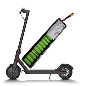 Derin sirkülasyon Lityum pil 36V 6AH 6.6Ah 7.5Ah 18650 hücreleri elektrikli scooter pili 10S3P ile