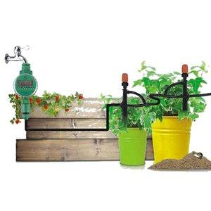 11분의 8 To4 / 7mm의 20m 표면 드립 -Irrigation 표면 드립 -Irrigation 자동 제어 관개 급수 키트