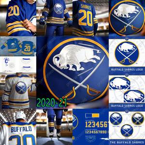 2020-21 Buffalo Sabres Jack Eichel Rasmus Dahlin Jeff Skinner Sam Reinhart Jimmy Vesey Dominik Kahun Linus Ullmark Hockey Jerseys