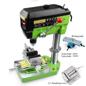 Máquina de perforación Fresado Pequeño Fresadora Tabela Pulsera Máquina Máquina Máquina 680W 220V Cuentas industriales multifuncionales Herramienta
