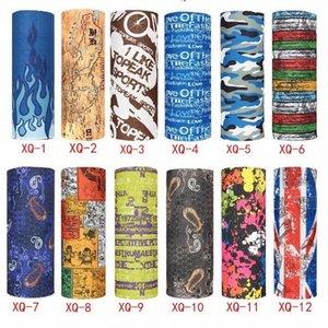 Schal im Freien 248 Farben Promotion Multifunktions Radfahren Nahtlose Bandana Magie Schals Frauen Männer Hot Haarband Schal 1200pcs IIA97 SKEY #