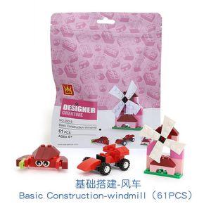children Building block toy 4 style suit baby Souptoys Early education Parent child toys granule Building toys with building blocks toys 03