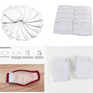 Las gotitas de polvo anti PM2 5 Colocar el filtro reemplazable para la máscara de papel Haze Boca PM2.5 filtros domésticos Protective Products