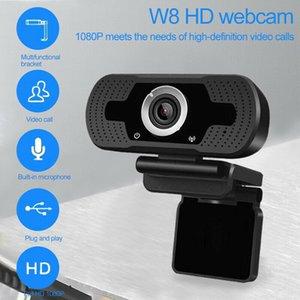 1080P webcam con micrófono, webcam HD PC portátil Plug and Computer cámara webcam Streaming Web Juego USB para videollamadas de grabación