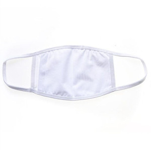 máscaras de diseño cara polyeste blancos sublimación 3D y diseñador individual para cara exterior de la moda negro con el envío libre