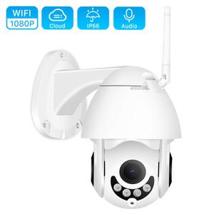 1080P WIFI caméra extérieure PTZ Caméra IP H.265 2MP Speed Dome WIFI Caméra IP Caméras de sécurité CCTV Extérieur IR Accueil Surveilance