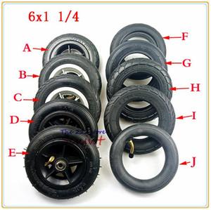 작은 서핑 전기 스쿠터 150mm 타이어 내통 6 인치 6x1 1/4 솔리드 타이어 / 휠 인플레이션 자전거 A-접이식 자전거 맞는