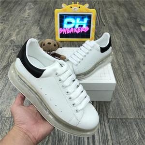 Top-Qualität 2020 die Frauen der Männer Blcak Velet Turnschuhe Beste Art und Weise weißer Leder-Plattform-Schuh-flache Im Freien Daily Dress Partei-Schuhe mit Kasten